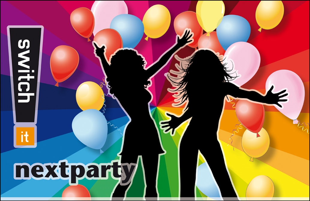 Einladung: switch it nextparty am 9. und 10. November 2018