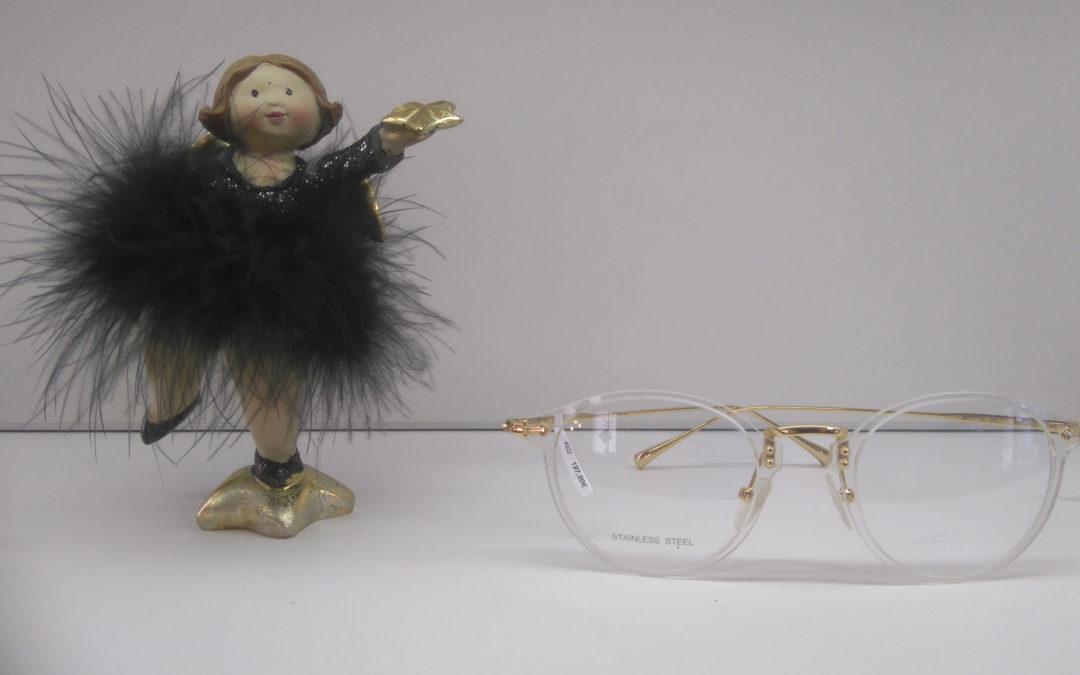 Unser Weihnachtsengel präsentiert: Schicke Brillen für festliche Tage