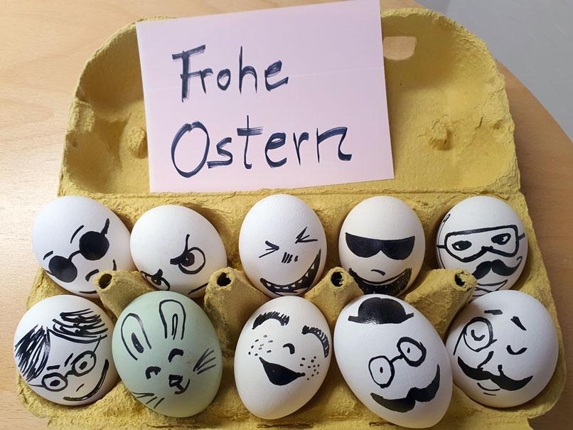 Frohe Ostern wünscht Augenoptik sichtbar